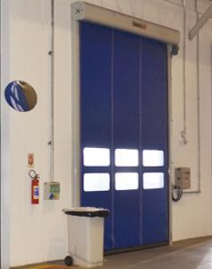 Portas Rápidas de Enrolar Modelo 601