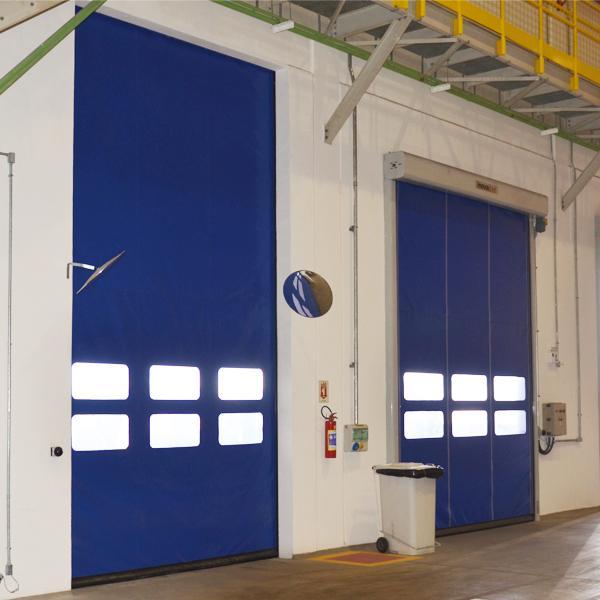 Portas Rápidas de Enrolar Inovadoor Modelo 601