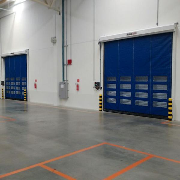 Portas Rápidas de Enrolar Inovadoor Modelo 601 2