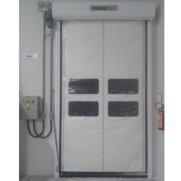 Portas Rápidas de Enrolar Inovadoor Modelo 601 Isofood 2