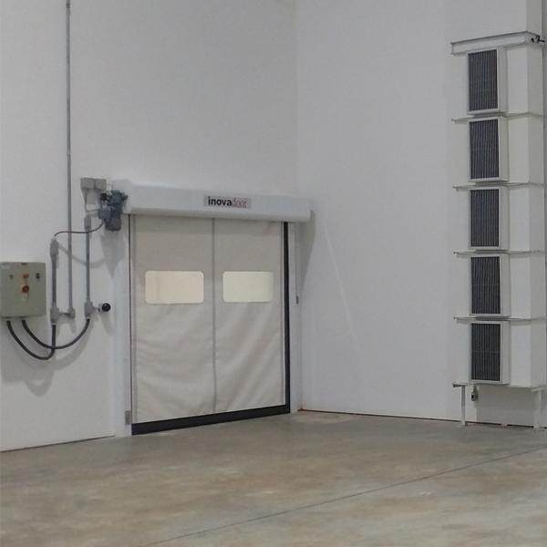 Portas Rápidas de Enrolar Inovadoor Modelo 601 Isofood 3