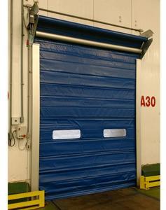 Portas Rápidas de Enrolar Inovadoor Modelo 617 DZ