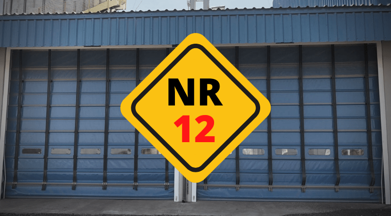Portas industriais em dia com a NR12