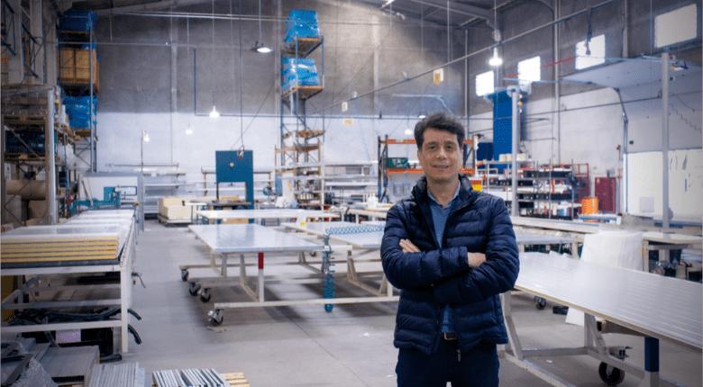 Case Inovadoor: história de inovação em portas industriais